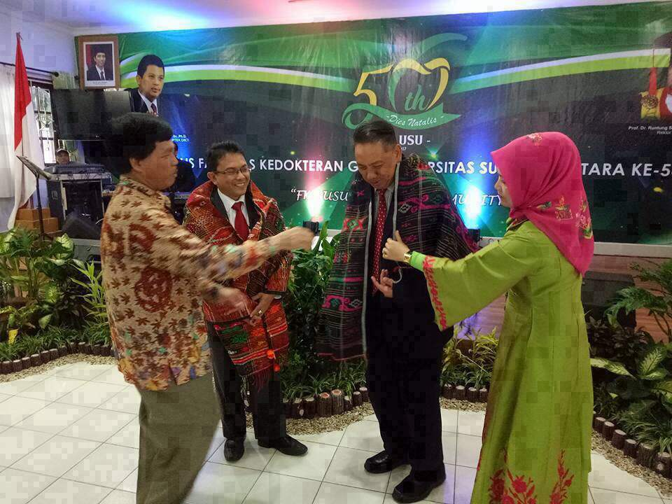 Dies Natalis faculty of dentistry north sumatera university Indonesia 2