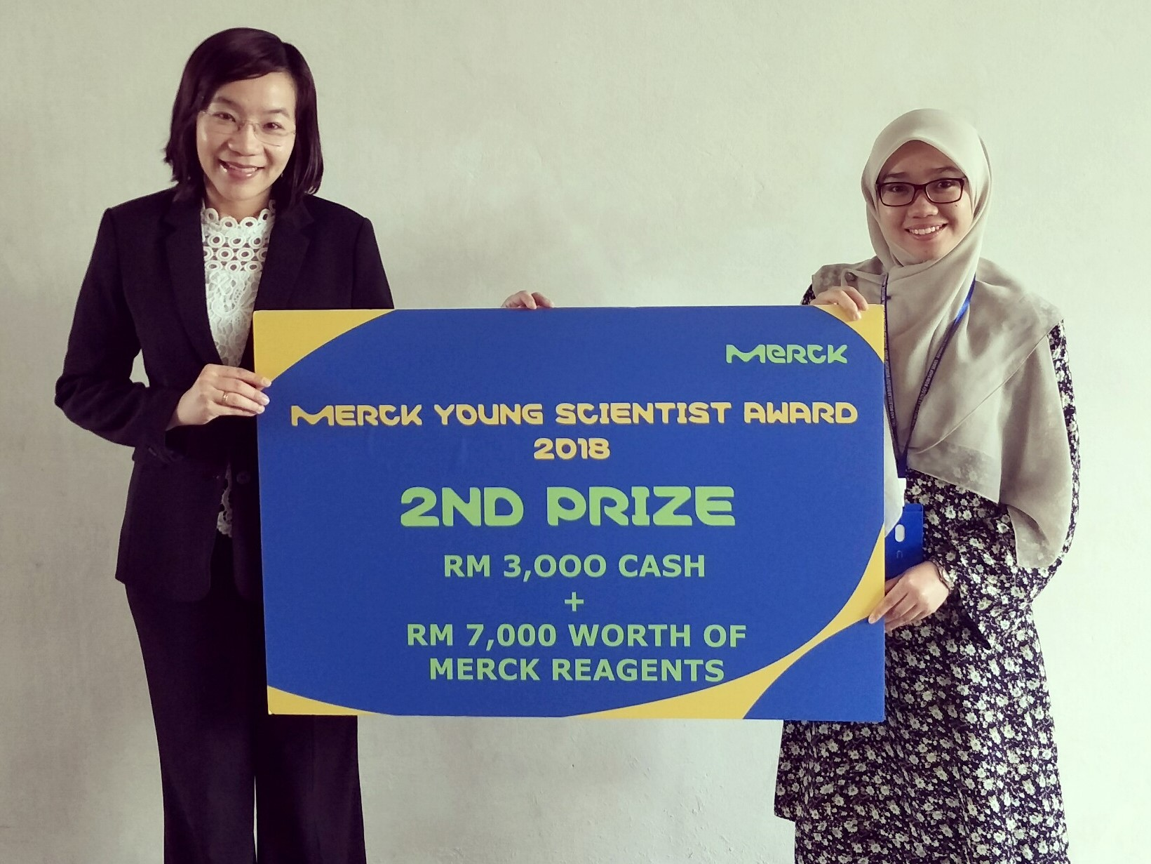 MERCK Young Scientist Award 2018