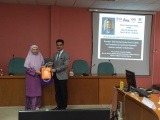 Sharing Session with Assoc. Prof. Dr. Arham Abdullah