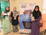 Tiga Pelajar Bioperubatan Memenangi Anugerah Tiga Teratas di Simposium Bioperubatan Malaysian ke-8