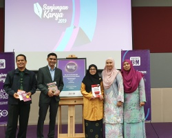 Book launching by Penerbit USM