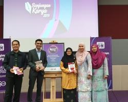 Book launching by Penerbit USM