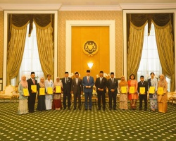 Recipient of YDP Agong Scholarship