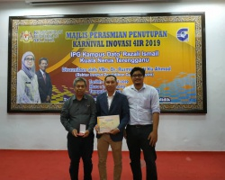 Congratulation to Mr. Zamri Ibrahim – Gold Medal EDNOVAC 2019